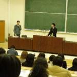 鈴木社長 福島大学にて講演